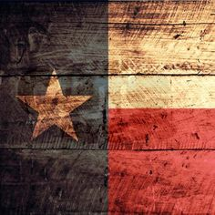 Old vintage wood look Texas state flag design with rustic feel. You will love this cute, retro Texan flag product!