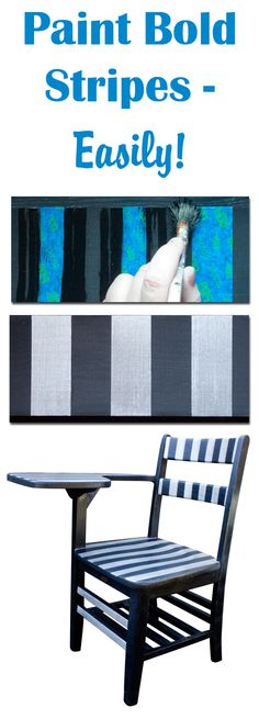 1000 images about painting furniture tips and tricks on - Painting stripes on furniture ...