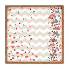 Monika Strigel Fall In Love Square Tray | DENY Designs Home Accessories