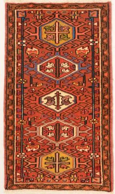 Karaja Woven: Hand Knotted Size: 2′ x 3'3″