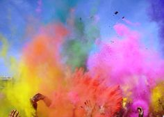 holi festival of colors photographie