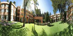 Patio vista 360° Hotel Marriott Puebla