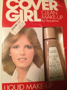 Cover Girl - we all wore this in high school!