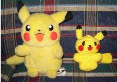 Bizzy Crochet: Pokemon Look-Alike Pikachu