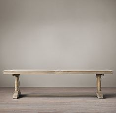 """WILLEMS RECTANGULAR DINING TABLE $1995 - $2895   Special $1495 - $2025. (84"""" for $1492) http://www.restorationhardware.com/catalog/product/product.jsp?productId=prod2480669"""