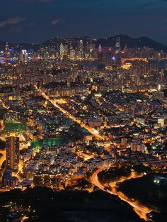 ✮ West Hong Kong At Night
