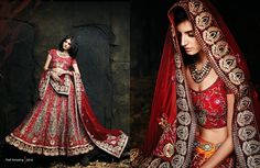 Beautiful collection of Netted Wedding Lehenga with heavy embroidery work en-crafted in Maroon color. Along with Contrast Matching Netted Duppatta and Blouse.