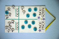 acfdf6fb3f500 An easy-to-make chore chart that the kids will enjoy putting together-