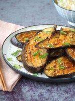 Miso Aubergines uit de oven