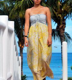 silk maxi dress.