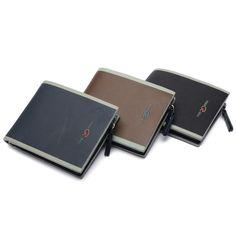 Sale 12% (8.24$) - Men Short Wallet PU leather Multifunctional Purse Billfold Card Holder
