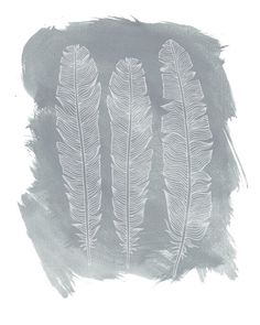 Feather Art Free Printables (5 to choose from)