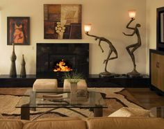 Nice Living Room African Safari Decor Design Ideas, Pictures, Remodel, And  Decor   Pa.