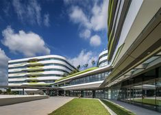 UNStudio completes first buildings for Singapore university