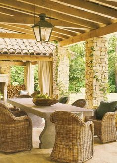 provencal garden | In the Garden-On the Veranda / Provencal style