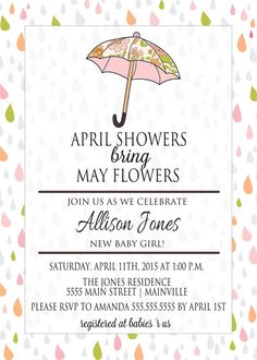 showers bring may flowers baby shower on pinterest april showers