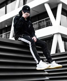 Black Skinny Jeans For Men Denim Stretch Slim Fit Jeans Brand Biker Style Classic Hip Hop Ankle Tight Taping Male Moda Streetwear, Style Streetwear, Streetwear Fashion, Streetwear Jeans, Streetwear Summer, Style Casual, Swag Style, Men Casual, Casual Pants