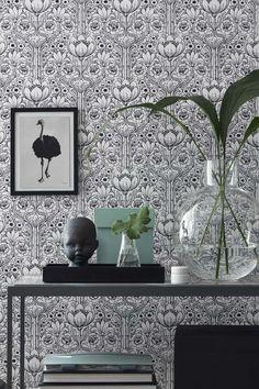 Eco Wallpaper Black & White, 6086