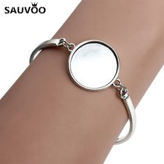 Cheap jewelry making findings, Buy Quality jewelry making directly from China cabochon base setting Suppliers: 5pcs/lot Silver Color Round Blank Cabochon Base Setting Bezel Tray Bangle Fit 20mm DIY Cabochons Jewelry Making Findings F3765