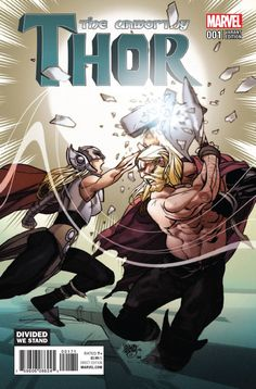 UNWORTHY THOR #1 (OF 5) FERRY DIVIDED WE STAND VARIANT NOW
