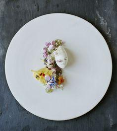 Dessert of flowers / René Redzepi Noma