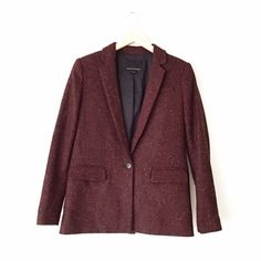 Banana Republic Tweed Blazer Size 0. Worn twice. Excellent condition with no rips or stains. Banana Republic Jackets & Coats Blazers