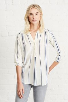 Amy Silk Blouse