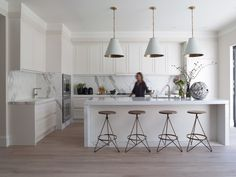 Kitchen Inspiration: Cone Pendant Lighting - Driven by Decor