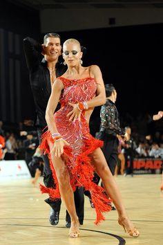 Sexy ballroom dancing nude cheats with black