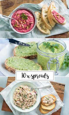 10 x lekkere en gezonde spreads – Food And Drink Healthy Snacks, Healthy Eating, Healthy Recipes, Sandwich Spread, Happy Foods, High Tea, Food Inspiration, Love Food, Food Print