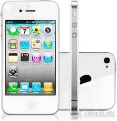 APPLE  IPHONE  4  8GB VOLNY  JE AKO NOVY SUPER CENA - 1