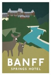 Framed Banff Springs available Print Posters Canada, Posters Uk, Banff Hotels, Banff Springs, Vintage Hotels, Vintage Travel Posters, Vintage Luggage, Visit Canada, Travel Illustration