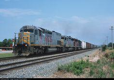 RailPictures.Net Photo: KCS 4505 Kansas City Southern Railway EMD SD40T-2 at Stilwell, Oklahoma by David Hawkins