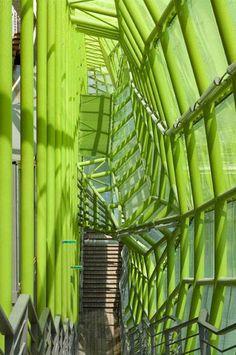 Cite de la Mode et Du Design in Paris by Jakob + MacFarlane Architects Architecture Design, Facade Design, Amazing Architecture, Commercial Architecture, Building Facade, Beautiful Buildings, Paris France, Gallery, Green Algae