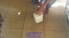 GOYAZLIMP - Limpeza de Pisos e Pedras ,Pós-obra Fazemos Impermeabilização de pisos em geral: Amostra de produto da Goyazlimp , em pisos com mar...
