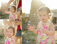 beautiful toddler/bubbles photos from oneforthewall.ca