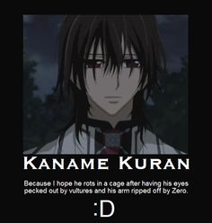 Kaname Kuran (Vampire Knight) Motivational Poster Photo: Obviously, I. This Photo was uploaded by xXx-Strawberry-GashesxXx Vampire Knight Zero, Yuki And Kaname, Yuki And Zero, Cosplay Steampunk, Bts Funny Videos, Motivational Posters, Good Movies, Amazing Movies, Naruto Uzumaki