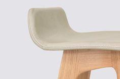 Morph Upholstered seat detail