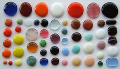 Waste not want not - make Glass globs from scrap to use in future projects