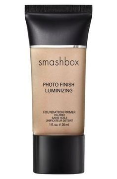 In my opinion, the best foundation primer on the market. This Luminizing primer gives a nice, subtle glow and isn't at all too shimmery or orangey. If you like a matte look (yawn) then use the regular Smashbox primer. Using a foundation primer is an extra step, but it fills in fine lines and pores. It also keeps your makeup looking fresh all day long. I find that this primer evens out my skin tone and gives some life to my skin. Sometimes I by Katy Cagney