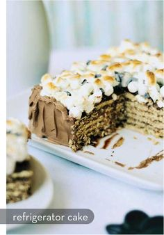 ... cakes on Pinterest | Refrigerator cake, Strawberry refrigerator cake