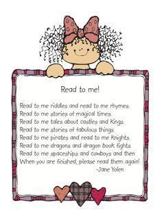 Parent Education   Kindergarten Nana Read to Me