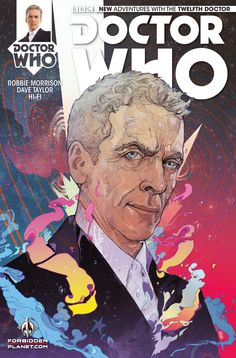 Doctor Who The Twelfth Doctor #1 The Forbidden Planet Variant - Christian Ward