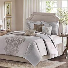 7-Piece Noreen Comforter Set in Natural