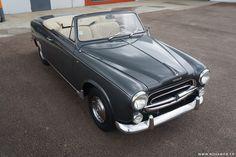 Peugeot - 403 Cabriolet 1960 ✏✏✏✏✏✏✏✏✏✏✏✏✏✏✏✏ IDEE CADEAU ☞ gabyfeeriefr.tumblr.com ..................................................... CUTE GIFT IDEA ☞ frenchvintagejewelryen.tumblr.com ✏✏✏✏✏✏✏✏✏✏✏✏✏✏✏✏
