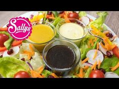 Sallys Rezepte - Sallys Lieblings-Salatdressings