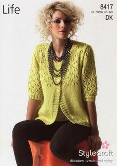 Stylecraft--Cardigan on PATTERNFISH.COM