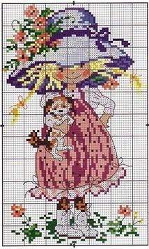 Blog full of Country cross stitch patterns.  In Spanish but can be translated into other languages.