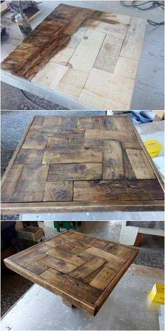 Sometimes the concept of choosing the table with the pallet use inside it, can come out to be an excellent option for the house makers. Most important of all it can stay for a long time period and it comes out to be unique looking. What else you want?