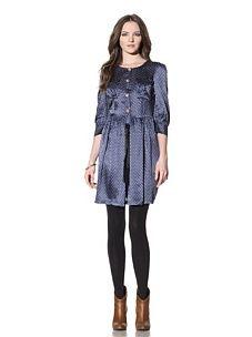 Chloe Star Print dress - I like the whole look